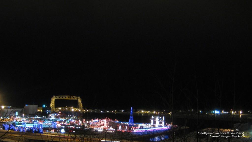 Bentleyville on Christmas Night